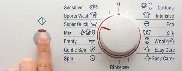 Spuštění pračky