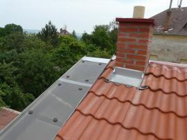 Klempířské prvky na střeše