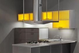 Umělé osvětlení a odvětrání kuchyně (digestoř)