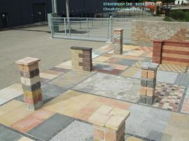 Betonová zámková dlažba a plotové tvarovky