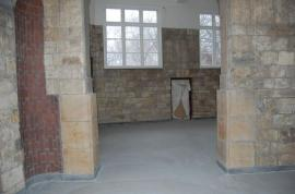 Dekorativní beton v Bílkově vile