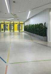 Dekorativní betonová podlaha v nemocnici Kladno