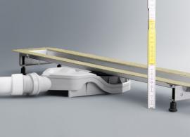 Ideální pro renovaci: Nové odtoky Advantix smontážními výškami mezi 62a67mm.