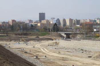 Připravované stavební parcely na okraji města