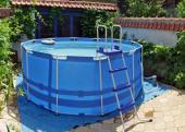 Malý nadzemní bazén
