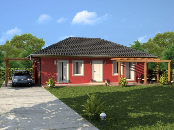 Typový bungalov Katka