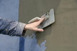Povrchová úprava zateplené stěny