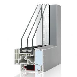 Plastový okenní profil Internorm THERMO PASSIV