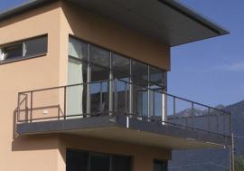 Zasklení okny z profilu Internorm THERMO PASSIV