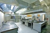 Vzduchotechnické vybavení profesionální kuchyně