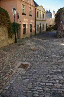 15. Rekonstrukce ulic a dlažeb historického jádra města Kutná Hora