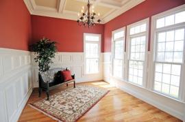 Ošetření dřeva v interiéru