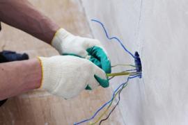 Provádění nových elektro rozvodů