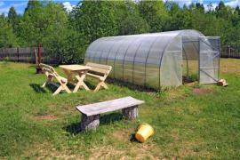 Samostatně stojící skleník