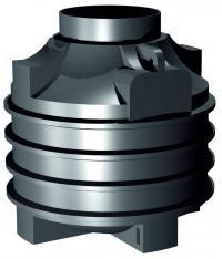 Nejmenší plastová jímka CLEAR 1.000 l (na 1.000 litrů vody)