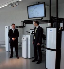 Jednatel společnosti Ing. Petr Stoklasa (vpravo) a obchodní ředitel pro východní Evropu Oliver Nehring.