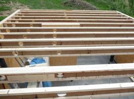 Dřevěné nosníky I-OSB