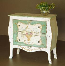 Na staré chalupy je vhodný nábytek zásadně na nohách