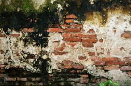 Vliv vlhkosti na vnější části stěny