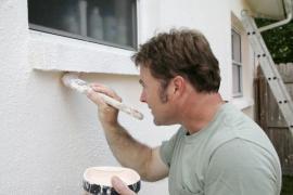 Oprava nátěru fasády