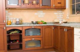 Renovovaná kuchyňská linka