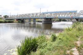 Rekonstrukce železničního mostu Kolín