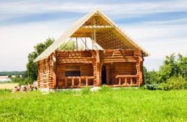 Stavba dřevěného srubu