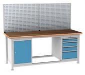 Dílenský stůl s kontejnery, set DPJ 23