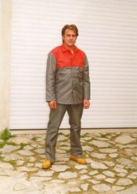 Pracovní oděv se sníženou hořlavostí MOFOS