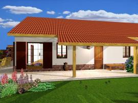 Návrh rodinného domu a zahrady