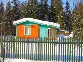 Zahradní domky musí přežít tuhé zimy