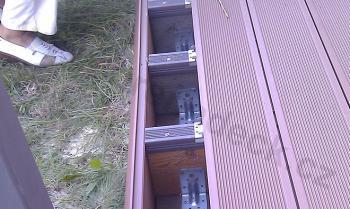 Usazování dřevoplastových terasových prken grenadeck