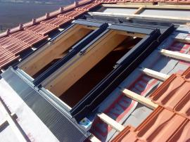 Instalace střešních oken
