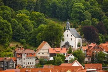 V německém městě Ruhla probíhá kompletní sanace kostela Nejsvětější Trojice.