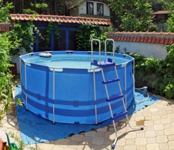 Nadzemní bazén fóliový s nosnou konstrukcí