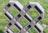 Plastová zatravňovací dlažba - menší formát