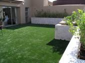 Realizovaný travní koberec