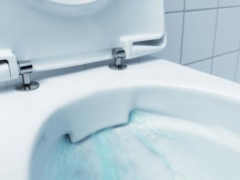 Splachování WC bez vnitřního splachovacího kruhu