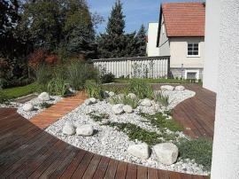 Řešení terasy terasovými prkny