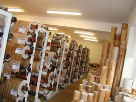 Široký PVC podlah