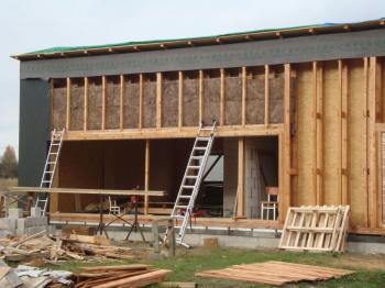 Pasivní dřevostavba arch. Kocycha s izolacÍ Knauf_Insulation