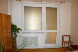 Nové plastové okno a balkónové dveře