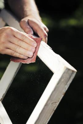 Přebrušování povrchu