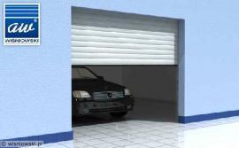 Rolovací garážová vrata, 3D vizualizace