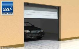 Sekční garážová vrata, 3D vizualizace
