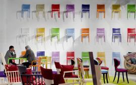 Barevné židličky na mnoho způsobů
