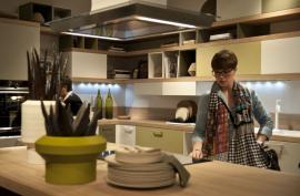 Návrat masivního dřeva do moderní kuchyně, v moderním stylu