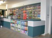 Navržený interiér lékárny