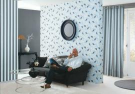 Říká se, že modrá barva působí v bytě studeně, máte ten dojem?