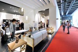 Expozice značky SMANIA na milánském veletrhu Salone del Mobile